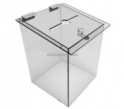Hot sale polycarbonate ballot box large ballot box clear ballot box BB-002