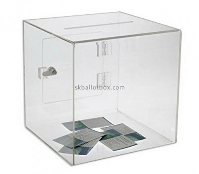 Wholesale acrylic suggestion boxes safety suggestion box office suggestion box SB-002