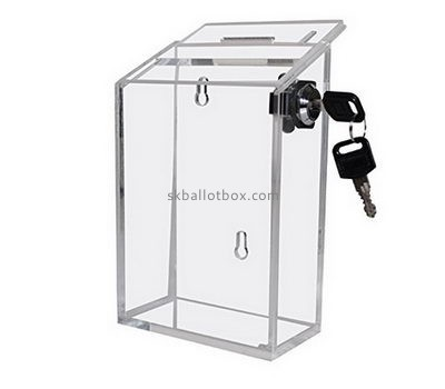 China ballot box suppliers direct sale polycarbonate box voting ballot box BB-089