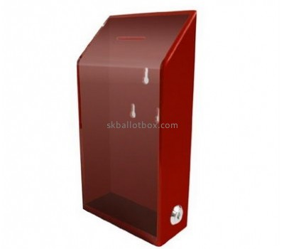China ballot box suppliers custom design polycarbonate box ballot box with lock BB-092