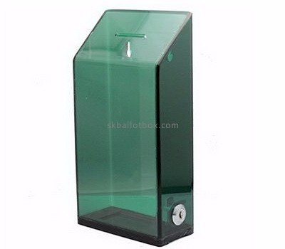 Charity collection boxes suppliers custom acrylic collection boxes for sale BB-1146