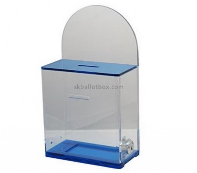 Acrylic items manufacturers wholesale christmas charity boxes BB-1209