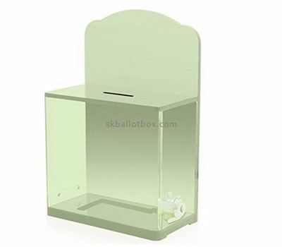 Ballot box suppliers custom cheap charity collection boxes BB-1217