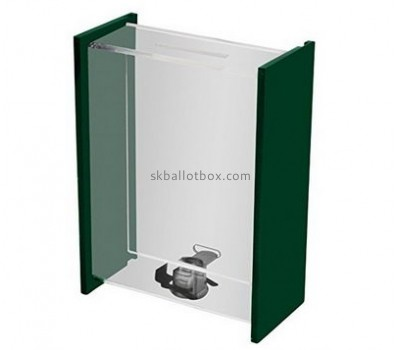 Acrylic display manufacturer custom acrylic charity donation boxes for sale BB-1230