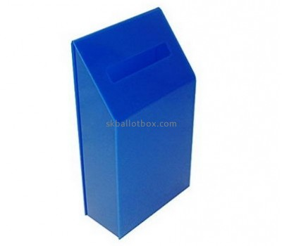 Acrylic box factory custom secure donation charity boxes BB-1238