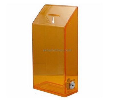 Acrylic products manufacturer custom plastic collection ballot boxes BB-1243