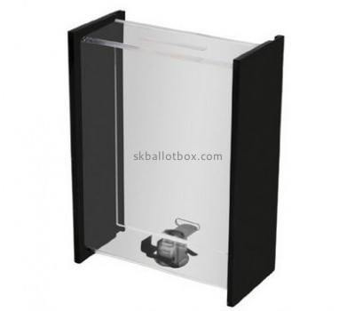Bespoke clear acrylic voting box BB-1528