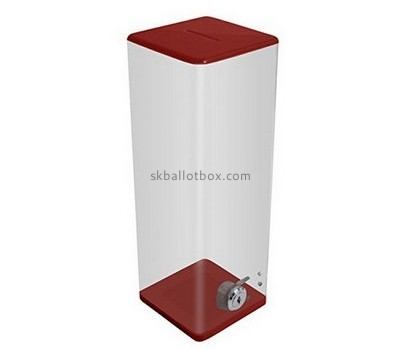 Customize acrylic large ballot box BB-1821