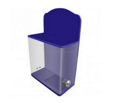 Customize clear plexiglass ballot box BB-2105