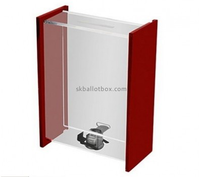 Customize perspex clear suggestion box BB-2116