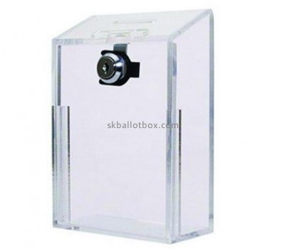 Customize clear perspex suggestion box BB-2120