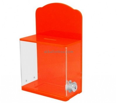 Customize lucite ballot box BB-2187