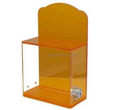 Customize acrylic charity donation boxes BB-2194