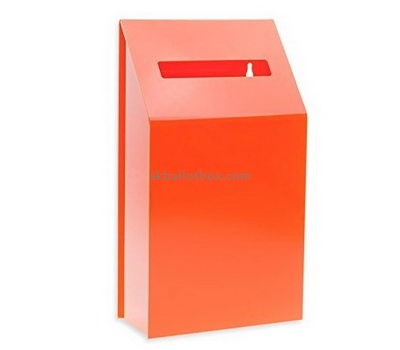 Customize orange charity collection boxes BB-2233