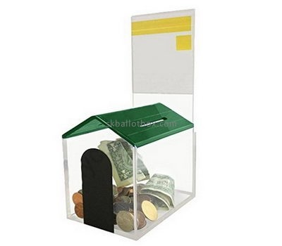 Customize lucite donation box DB-055