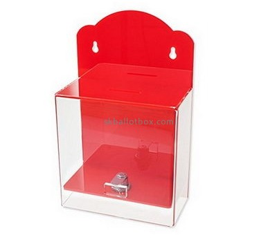 Wall suggestion box acrylic BB-2646