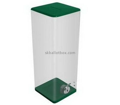 Large lockable acrylic ballot box BB-2662