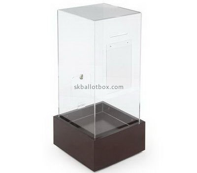 Large ballot box with sign holder BB-2669