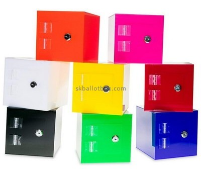 Custom color acrylic suggestion box BB-2721