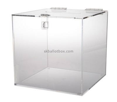 Custom large acrylic suggestion box BB-2755